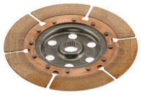 Click for a larger picture of Tilton OT-2 Nested Dual Clutch Disc - Inner 7/8 x 20