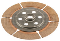 Click for a larger picture of Tilton OT-2 Nested Dual Clutch Disc - Outer 7/8 x 20