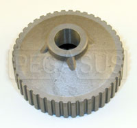 Click for a larger picture of 1.6L Water Pump Pulley, 44 Tooth, 0.50 Shaft