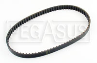 Click for a larger picture of Water Pump Belt, 160XL037 - 80 Teeth - 3/8 in Wide