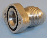 Click for a larger picture of 10AN Flanged Inlet Fitting for Pace Filter Pump