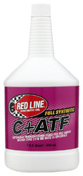 Click for a larger picture of Red Line Synthetic C+ ATF