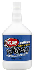 Click for a larger picture of Red Line Synthetic Motor Oil