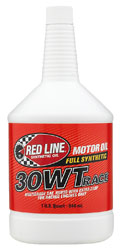 Click for a larger picture of Red Line SAE Racing Oil