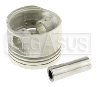 Click for a larger picture of 2.0L Mahle Piston &  Wrist Pin, 1985 Spec, each (no rings)