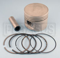 Click for a larger picture of 2.0L AE Hepolite Piston with Rings & Pin, 1985 Spec, each