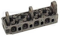 Click for a larger picture of 2.0L Prepared Cylinder Head with Valves