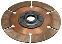 """Click for a larger picture of F3/OT-2 Clutch Disc, 7.25"""", 1x23 Spline, FC / F2000 / S2000"""