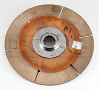 "Click for a larger picture of F3/OT-2 Clutch Disc, 7.25"", 1x23 Spline, FC/F2000/S2000"