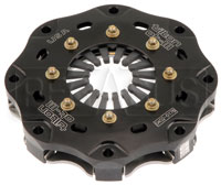 "Click for a larger picture of Tilton 5.5"" OT-3 Single Disc Clutch, Gray Spring (No Disc)"