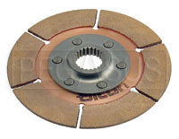 "Click for a larger picture of Tilton 5.5"" OT-3 Clutch Disc, Metallic, Standard Hub, 1 x 23"