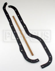 Click for a larger picture of Ivey 2.0L Oil Pan Gasket with Cork Ends