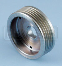 Click for a larger picture of Poly-Vee Crankshaft Water Pump Pulley, Swift