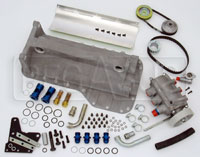 Click for a larger picture of 2.0L Titan Standard Dry Sump Kit, Cast Pan (1985+ Block)