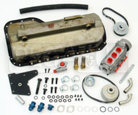Click for a larger picture of 2.0L Titan Series 2 Dry Sump Kit, Jackshaft Drive, Steel Pan