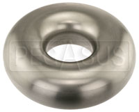 Click for a larger picture of Tube Full-Round Donut, Stainless Steel