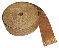 "Click for a larger picture of Copper Header Wrap, 1/16"" thick. 50ft roll"