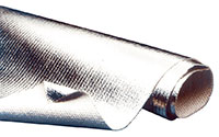 Click for a larger picture of Aluminized Heat Barrier Cloth, Non-Adhesive
