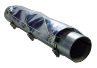 Click for a larger picture of Thermo Tec Pipe Shield, 1 Ft.