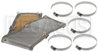 Click for a larger picture of Thermo-Tec Stainless Steel Clamp-On Heat Shield, 2' x 6""