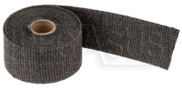 "Click for a larger picture of Black Header Wrap, 2"" wide x 1/16"" thick  - 15 foot Roll"