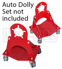 Click for a larger picture of Auto Dolly Roll Around, 5-Bolt Pattern (set of 2)
