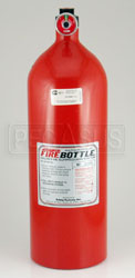 Click for a larger picture of (H) FireBottle 10lb. Halon Spare Bottle, Manual