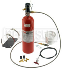 Click for a larger picture of (H) 5lb Halon Automatic/Manual Fire Suppression System