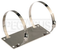 Click for a larger picture of Firebottle 10 lb Mounting Bracket & Clamps