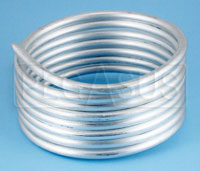 Click for a larger picture of Aluminum Tubing 1/4in O.D. - 8 foot coil