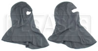Click for a larger picture of CarbonX Head Sock, specify single or dual eye opening.