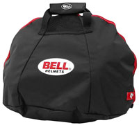 Click for a larger picture of Bell v.16 Fleece-Lined Helmet Bag, Black with Red Trim
