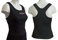 Click for a larger picture of Lady Eagle CarbonX Pro-Tek Tank with Built-in Sports Bra
