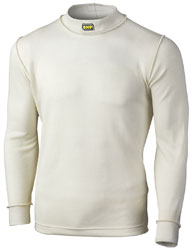 Click for a larger picture of OMP Nomex Underwear Top, Long Sleeve, FIA / SFI