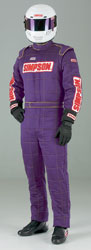Click for a larger picture of Simpson MTO33 Custom-Made Sateen Nomex Suit