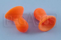 Click for a larger picture of Contoured Ear Plugs (no cord)