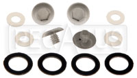 Click for a larger picture of Bell Sport Mag Visor Screw Kit Only (SA10/SA15)
