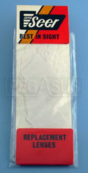 Click for a larger picture of Tearoffs for Compact Goggle (#2274), 6/pkg.