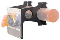 "Click for a larger picture of Switch Panel Mount Brackets, 1 3/4"" Roll Bar, Threaded Holes"