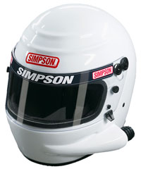 Click for a larger picture of Simpson Voyager Sidewinder Helmet, Snell SA2010 Approved