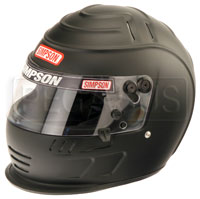 Click for a larger picture of Simpson Speedway Shark Helmet, Snell SA2010 Approved