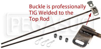 Click for a larger picture of Window Net Installation Kit, Top & Bottom, Welded Buckle