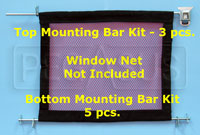 Click for a larger picture of Window Net Mounting Bottom Rod Only