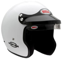 Click for a larger picture of Bell Sport Mag Helmet, Snell SA2010 Approved, White, XXSmall