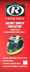 Click for a larger picture of Self Adhesive Helmet Shield Protector