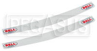 Click for a larger picture of Bell Visor Strip for Full-Face Helmets, White