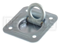 Click for a larger picture of 5000 lb. Recessed Mount D-Ring