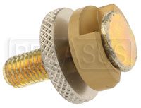 Click for a larger picture of Threaded Stud Track Connector, M10 x 1.50