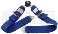 "Click for a larger picture of Simpson Rotary Camlock Lap Belt, Snap-In, Pull-Down, 22""-52"""
