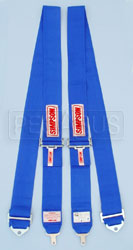 Click for a larger picture of Simpson Camlock Separate Strap Shoulder Harness, 24-80""